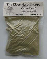 Olive Leaf Powder 1 oz - The Elder Herb Shoppe
