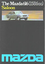Mazda 616 Saloon 1976-78 Original UK Sales Brochure dated 3/76