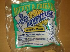 1993 McDONALD'S KIDS HAPPY MEAL TOY-EPCOT ADVENTURE-DONALD IN MEXICO! NEW!