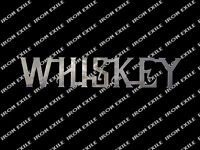 Whisky Mancave Bar Liquor Metal Wall Art Sign for Pub or Game Room Alcohol