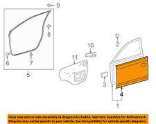 TOYOTA OEM 09-13 Corolla-Door Skin Outer Panel Left 6711202180