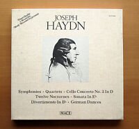 Haydn Symphonies Quartets Cello Concerto etc 5xLP Mace MAV-3606 EXCELLENT