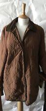 Ladies true vintage tan Quilted Country Jacket 12