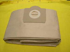VPE Papierfiltertüten Filtersäcke für Kärcher NT 500 501 551 eco Sauger