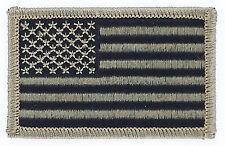 PATCH ECUSSON BRODE DRAPEAU USA NOIR CAMO AMERICAIN INSIGNE NEUF FLAG PATCHE