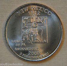 2008-P Uncirc. New Mexico Statehood Quarter - Single