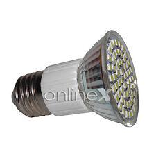 Bombilla 60 Led E27 3528 SMD 6500k 3,5W Bajo Consumo Iluminación 220v-240v