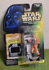 Star Wars cardada poder de la fuerza Verde tarjeta congelar fotograma Biggs Darklighter