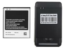 Generic Battery EB-L1D7IBA + Charger for Samsung Galaxy SII T989 Skyrocket i727