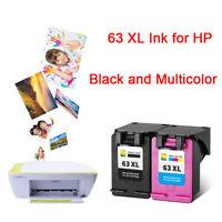 63 XL Ink Cartridge For HP Deskjet 1111 2130 3630 3632 4520 4650 5740 Printers