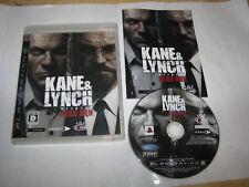 Kane & Lynch Dead Men Playstation 3 PS3 Japan import US Seller
