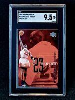 1997-98 Upper Deck Michael Jordan Checklist #175 SGC 9.5 Pop 1