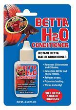 Zoo Med Aquarium Betta Fish H2O Conditioner 15ml - Remove Chlorine Nitrite