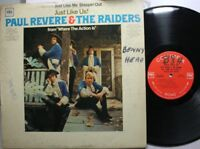Rock Lp Paul Revere & The Raiders Just Like Us! On Columbia