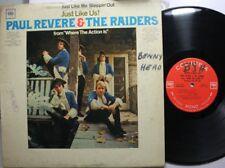 Rock Lp Paul Revere & The Raiders Just Like Us! On Columbia