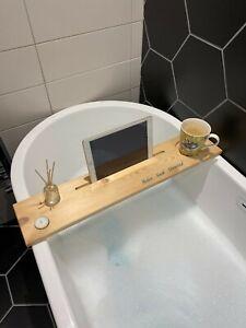 Personalised / Engraved Bath Board - Pine