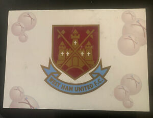 Signed Official West Ham United Football Autograph Card Harry Redknapp Lampard