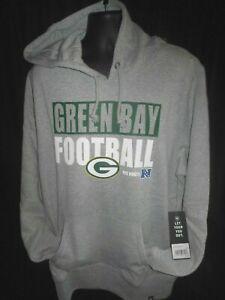 Green Bay Packers NFL Men's '47 Brand Hooded Pullover Sweatshirt 2X
