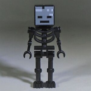new LEGO Minecraft Minifig - Wither Skeleton