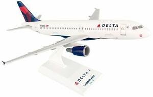 Daron Skymarks Delta A320 1/150 New Livery REG#N376NW Model Aircraft