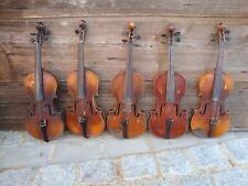 16 !!! alte Geigen zu Herrichten etc.