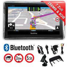 7 pulgada WinCE GPS Bluetooth wohmobil Navi GPS camiones automóviles alertador de radares