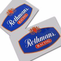 Rothmans Racing Sponsor Aufkleber,Benutzerdefinierte Grafiken Aufkleber X 2