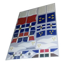 Banderas navales francesas - French navy flags - Playmobil's Custom Stickers