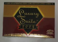 2003-04 Pacific Luxury Suite Factory Sealed Hobby Hockey Box