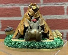 """Charming Tails """"Camping Out"""" - 83/703 - 1998 - Original Box"""