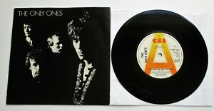 """The Only Ones - Trouble In The World UK 1979 CBS Promotional 7"""" Single P/S"""