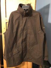 Men's Kartel Brown Hooded Field style Winter Coat Size M