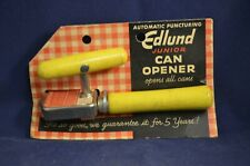 Vintage Edlund Junior Can Opener Opens All Cans on Original Packing