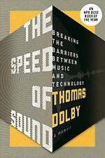 THE SPEED OF SOUND - DOLBY, THOMAS - NEW PAPERBACK