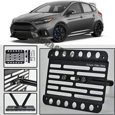 For 16-Up Ford Focus RS Front Bumper Tow Hook License Plate Mounting Bracket