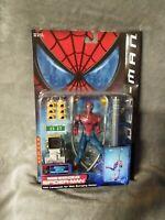 """Toy Biz SPIDER-MAN MOVIE WEB SWINGING SPIDERMAN 6"""" ACTION FIGURE"""