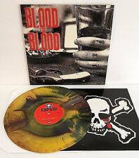 BLOOD FOR BLOOD spit my last breath LP Record MULTI-COLOR SWIRL BURST Vinyl
