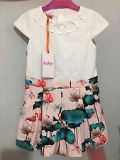 New Girls Designer Ted Baker Floral Flamingo Print Playsuit 4-5yrs 🎀