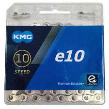 KMC e10 10 Speed E-Bike Chain Extra Long 136L Hybrid Fat MTB Electric Bike