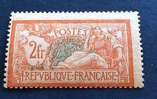 France N° 145 2 F Orange Et .vert Neuf **  TB Gomme Intacte Côté 150€