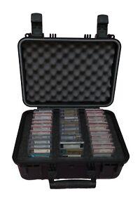 Large Graded Sports Card Case - Holds PSA, BGS, SCG - Precut / Preformed Foam