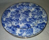 Maxwell & Williams Antique Blue Bread And Butter Plates Set Of 4 Bone China
