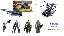 Meccano 858450 - Gears Of War – King Raven Helicopter Construction Set – 300+PCS