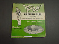 "VINTAGE ""PRO"" PUTTING DISC UNITED METAL PRODUCTS CORP. NO. 2100"