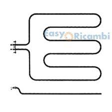 RESISTENZA INFERIORE PER FORNO TECNOGAS 1800W 220V 360mm x 465mm /495mm R486