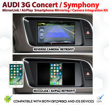 Audi A4 B8 Basic Smartphone Mirroring AirPlay MirrorLink + Reverse Camera Kit