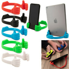 Thumbs-Up Cell Phone Stand Smartphone Compatible Vertical Horizontal Holder
