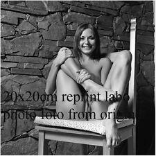 NU NUDE PHOTO FOTO 20X20CM REPRINT FROM ORIGINAL NEG NATURELLE BEAUTE NEW28