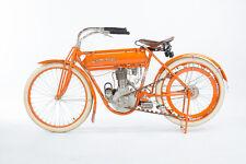 1910 FLYING MERKEL BOARD TRACKER VINTAGE MOTORCYCLE POSTER PRINT 24x36 HI RES