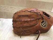 "Wilson A2000 PS2 Pro Select Silver Label 13"" Baseball Softball Glove Left Throw"